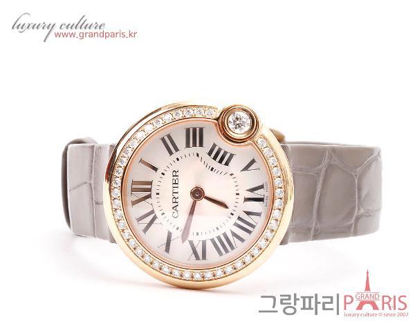 까르띠에 발롱블랑 로즈골드 30mm 여성시계