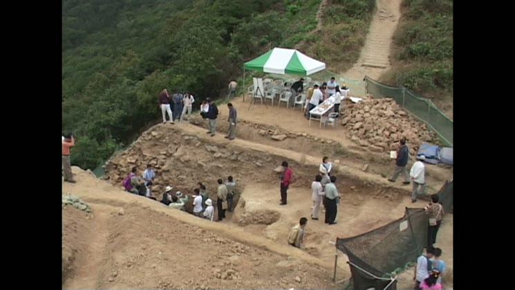 2003.10.12 계양산성 1차 발굴