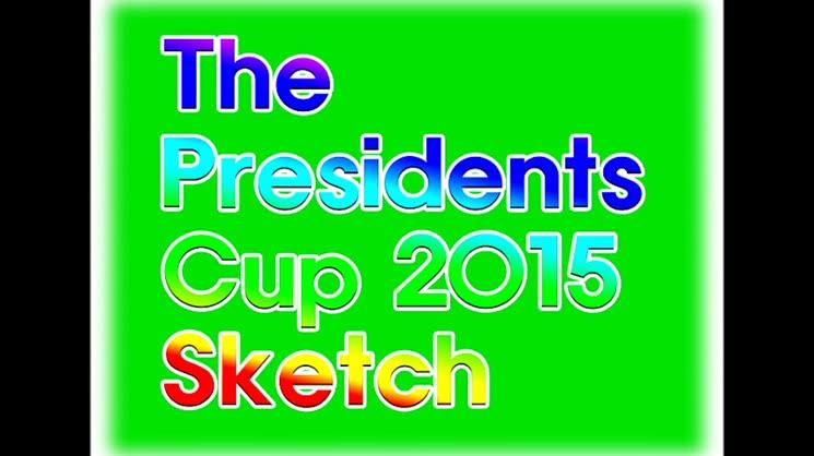 2015 프레지던트 컵 (Presidents Cup) Sketch