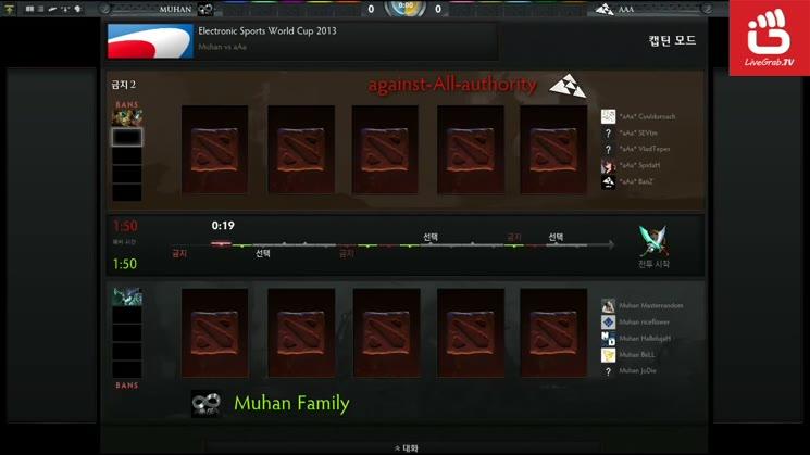 ESWC 2013 DOTA2 - aAa vs Muhan