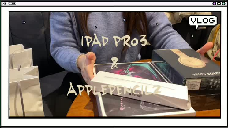 [ VLOG ] 20학번 간호 새내기 아이패드 프로 3세대 & 애플펜슬 2세대 언박싱 ?