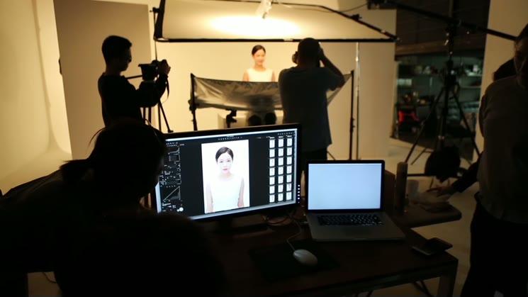 어울 화장품 광고 메이킹 필름