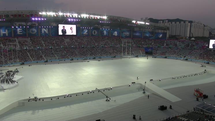 '45억 아시아인의 축제' 제17회 인천아시안게임 개막