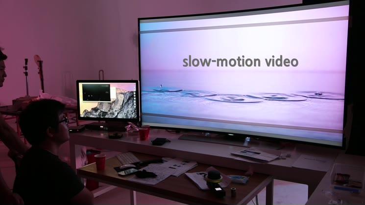 광고촬영 메이킹 영상