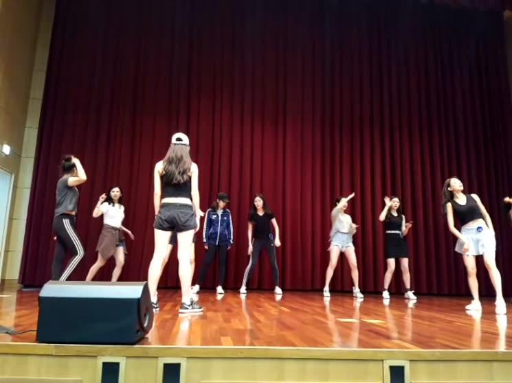 2018 미스인천연습