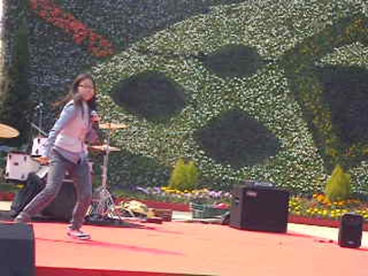 고양국제꽃박람회공연 방콕시티-오렌지카라멜