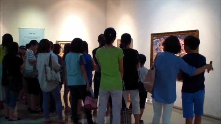 2014 여름방학 청소년을 위한 ' 디지털 서양미술사 展'