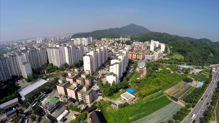 박촌동 항공영상