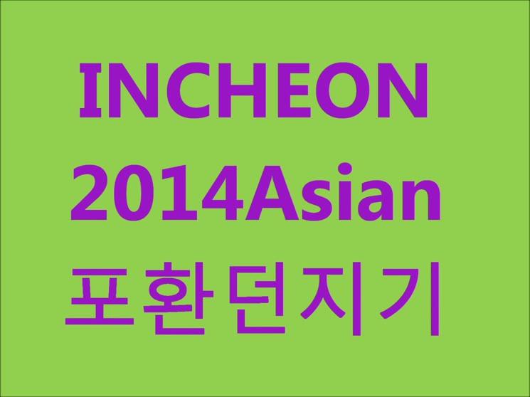 INCHEON2014Asian ParaGames포환던지기