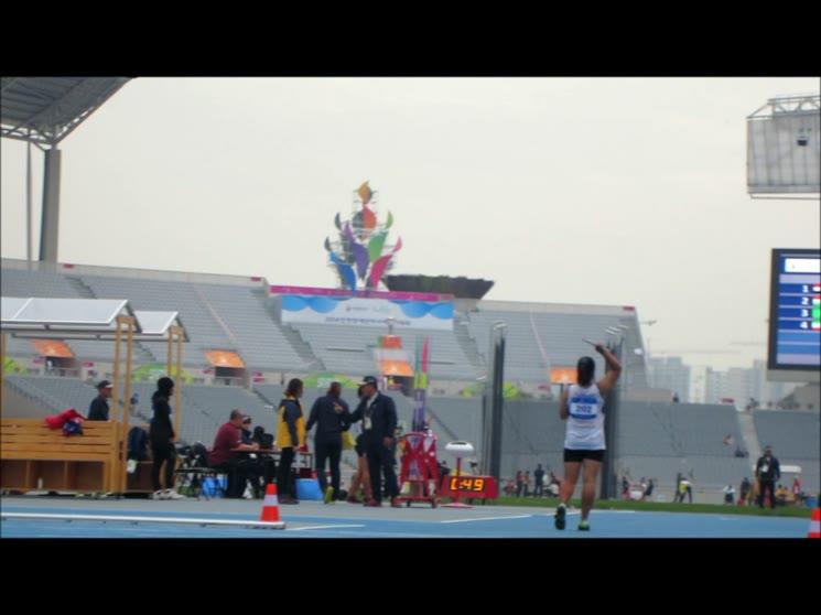 인천2014년 아시안장애인올림픽창던지기