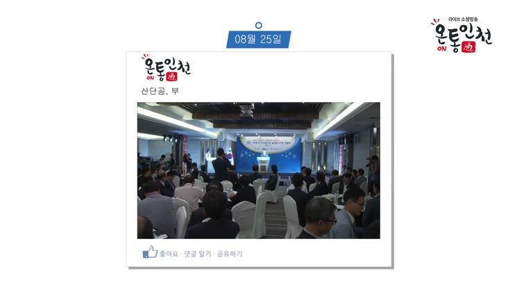 인천광역시 8월 넷째 주, 타임라인뉴스