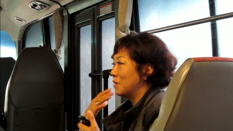 [영상왕] 2015시민 사회적기업 체험 방문 하는날 차량안에서