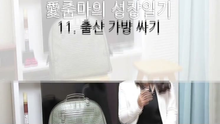 출산 가방 싸기 - 친절한 세인씨의 애줌마의 성장일기 11편