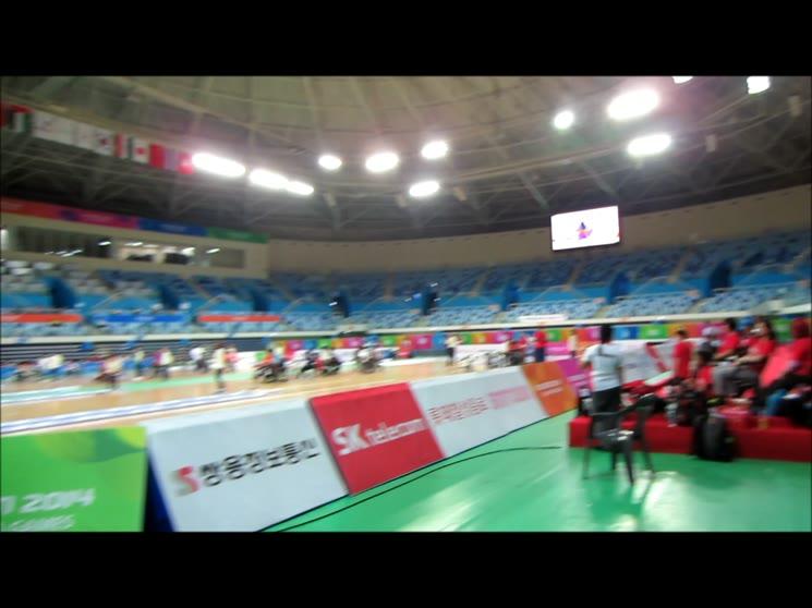2014인천장애인아시아경기대회보치아(개인전)