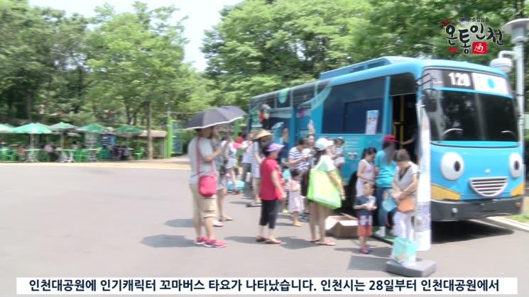 여름방학, 꼬마버스 타요 보러 인천대공원으로 GO! GO!