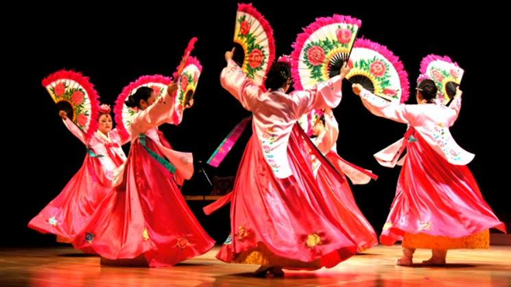 [영상왕] 애랑무용단 부채춤 노래가락 공연